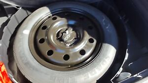 07 08 09 10 11 12 13 14 Ford Edge 17x4 1 2 Spare Wheel And Tire