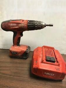 Hilti Sfh 18 a 18v Cordless Hammer Drill W Battery Charger