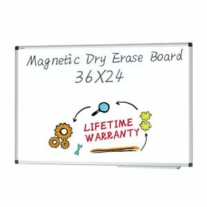 Dry Erase Board Magnetic Whiteboard Large White Board Wall Mounted Dry Erase