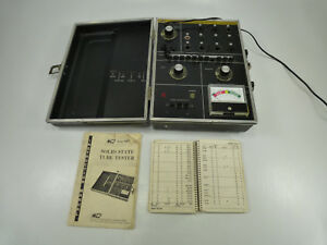 B k Precision Dynascan Model 607 Solid State Vacuum Tube Tester W Manual