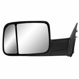 2013 2014 2015 Dodge Ram 2500 Flip Out Head Manual Tow Mirror Driver Left Side