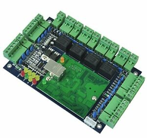 Wiegand 26 Tcp ip Network Access Control Board Panel Controller For Four Door