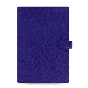 Filofax Personal Size Finsbury Organiser Diary Book Electric Blue Leather 022499