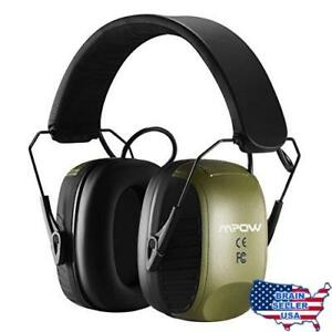 Mpow Electronic Ear Protection Earmuffs Sound Amplification Shooting Ear Protec