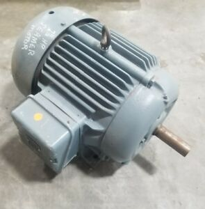 7 5 Hp 3 Phase Electric Motor 1 375 Shaft 3477sr