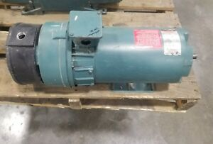 Reliance 1 Hp Dc Motor Fd56hc With Ac Tachometer Generator 3729sr