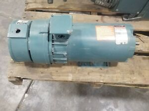 Reliance 1 Hp Dc Motor Fd56hc With Ac Tachometer Generator 3728sr