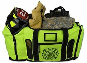 Newly Redesigned Lightning X Firefighter Fireman Quad vent Turnout Gear Bag New