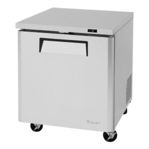 Turbo Air 28 Undercounter Stainless 6 5 Cu ft Freezer Muf 28