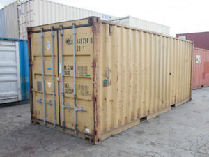 20ft Shipping Container Guaranteed Wind Watertight For Sale Minneapolis Mn