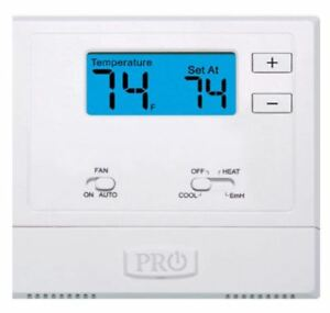 Pro1 Iaq T621 2 Single stage 2 Hot 1 Cold Non programmable Thermostat Heat Pump