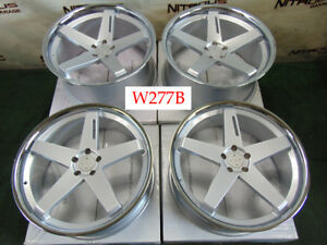22 Blaque Diamond Bd21 Mercedes 2007 2018 S400 S550 S600 S63 S65 Wheels W277b