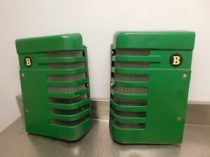John Deere Styled B Tractor Front Grilles Ab1534r Ab1535r 12936