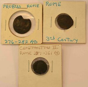 Lot Of 3 Roman Coins