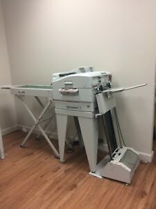 Xante Ilumina 502 Digital Envelope Press With Conveyor And Feeder Excellent Cond