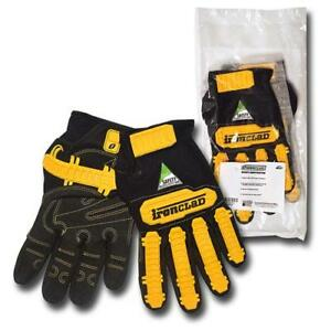 Ironclad Safety Work Grip Gloves Xx large X large New Low As 8 58each