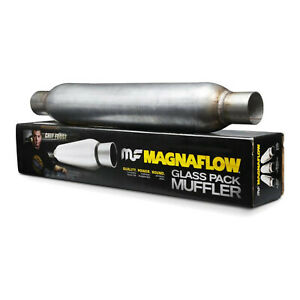 Magnaflow 18146 2 5 Center Center 4 Round Glasspack Performance Muffler