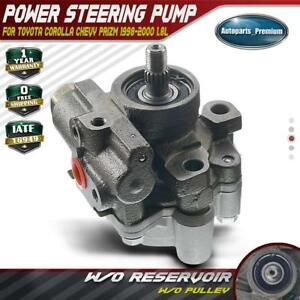 Power Steering Pump For Toyota Corolla 1998 2000 Chevrolet Prizm 4432002033