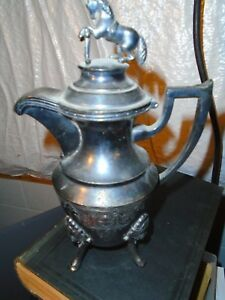 Reed Barton Creamer With Horse Standing Upright