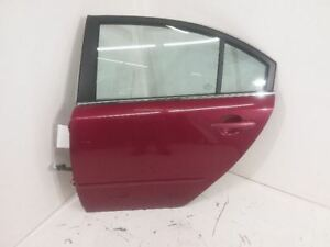 06 07 08 09 10 Kia Optima Driver Left Rear Side Door Electric Spicy Red Metallic