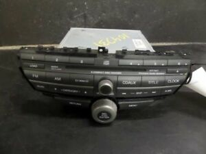 2010 Honda Accord Radio Am Fm 6 Cd 6 Disc Sedan Ex L