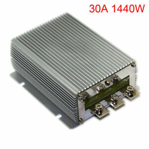 Dc 24v Step Up Dc 48v Power Supply Converter Module Waterproof 30a 1440w ur