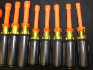 Cementex U s a Insulated Tool Nut Driver Set 9 Piece Must See P7v000143