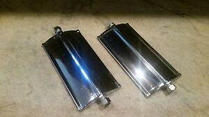 Vintage 70 S Kd Jr West Coast Mirror Heads 5 10 Classic Truck Van Pickup