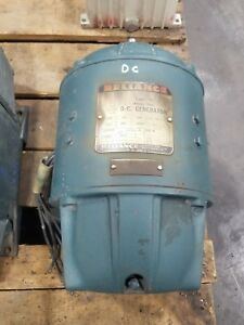 Reliance 20d30 Dc Generator Type T Ct204 3500 Rpm Shunt 50v 20a 3768sr