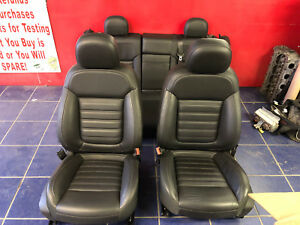 2013 Buick Regal Gs Grand Sport Black Leather Seats