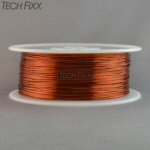 Magnet Wire 18 Gauge Awg Enameled Copper 700 Feet Coil Winding 3 5lbs Essex 200c