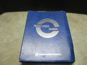 Mazak Micro center V Programming Manual 42687 Cnc Vertical Mill