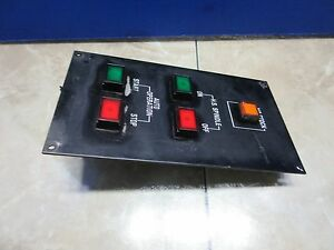 Star Jnc 10 Snc 25 Operating Switch Panel Spindle On Off Cnc