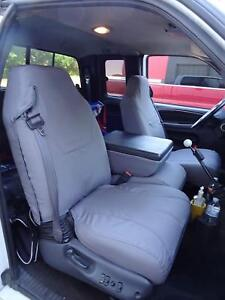 1998 2001 Dodge Ram Quad Cab 1500 3500 Front Exact Fit Seat Covers In Gray