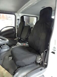 2006 2020 Isuzu Npr gmc 2500 Work Truck Seat Covers In Black Endura