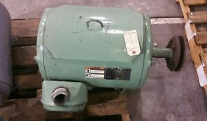 Lincoln 50 Hp 3 Phase Electric Motor Tm4667 shipping Available 2191sr