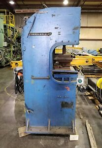 Pneumatic 12 Ton C frame Press Lower Plate Ejection