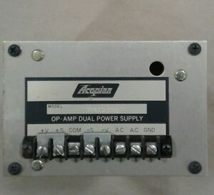 Acopian Power Supply Vtd15 250 Op Amp Dual Power Supply 021a7