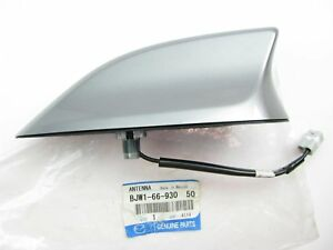 New Genuine Radio Stereo Roof Mount Shark Fin Antenna Silver Oem For Mazda