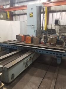 Giddings Lewis 65 d5 t 5 Horizontal Boring Mill 60 X 122 Table Machining