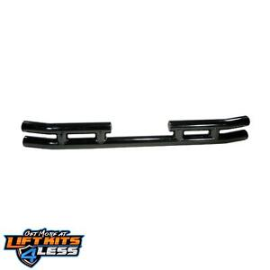 Rugged Ridge 11570 03 Gloss Black Rear Tube Bumper For 87 06 Jeep Wrangler Tj Yj