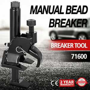 Manual Tire Bead Breaker 71600 New Version Leverage Loosens Rim