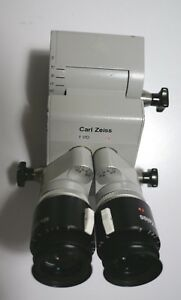Carl Zeiss Opmi Optic Head 0 60 Surgical Microscope F 170 10x22b Eyepieces