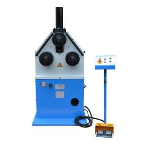 3 Hp Ring Band Roller Round Angle Bender Hydraulic Bending Pipe Tube Square Tube