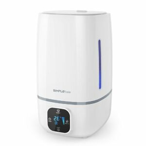 Simpletaste 4l 1 06 Gallon Ultrasonic Cool Mist Humidifier Diffuser With Lcd