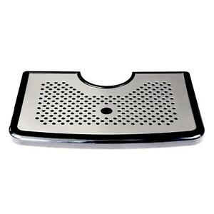 Kegerator Drip Tray By Redwood Brew Supply Beer Drip Tray With Sleek Stainless