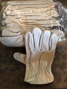 100 Leather Work Gloves