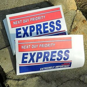 Priority Express Marketing Envelopes 6 X 9 500 lot Direct Mail Branding