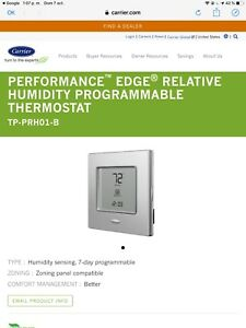 Carrier Performance Edge Relative Humidity Programmable Thermostat