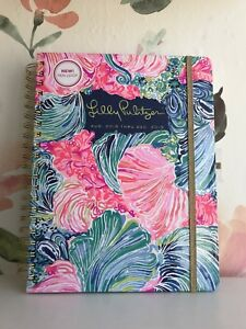 Lilly Pulitzer Jumbo 17 Month Agenda Personal Planner 2018 2019 Beach Please
